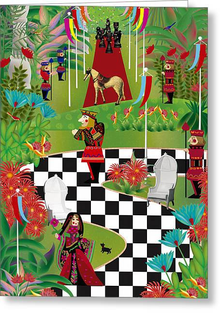 Chess Festival - Limited Edition 2 Of 20 Greeting Card