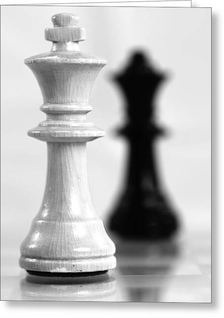 Chess Posters Greeting Card by Falko Follert
