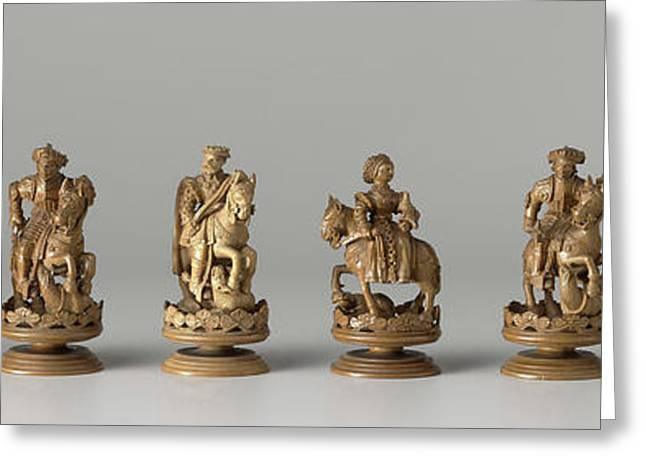 Chess Set, Anonymous Greeting Card