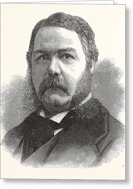 Chester Arthur, Vice-president-elect The United States Greeting Card by American School