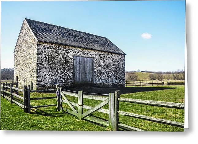 Chester County Barn Greeting Card