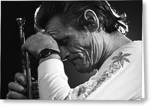 Chet Baker 1 Greeting Card
