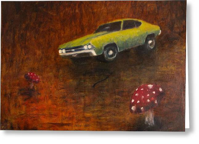 Chevelle Greeting Card by Jeff Levitch