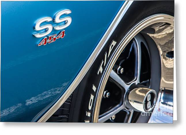 Chevelle Ss 454 Badge Greeting Card