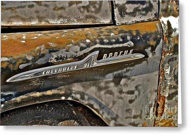 Chevrolet Apache Greeting Card