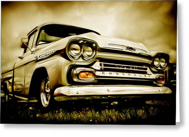 Chevrolet Apache Pickup Greeting Card by motography aka Phil Clark