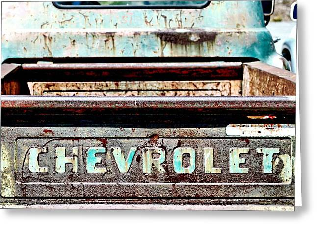 Chevrolet Greeting Card