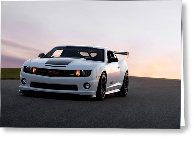 Chevrolet Camaro Ss Greeting Card by Art Work