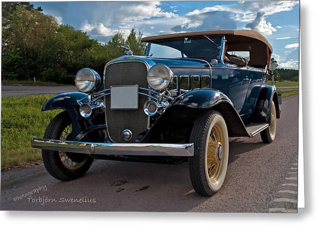 Chevrolet Confederate Ba Phaeton 1932 Greeting Card