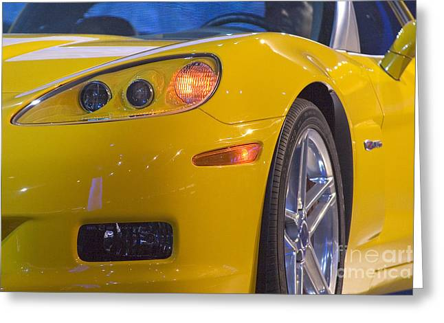 Chevrolet Corvette Greeting Card
