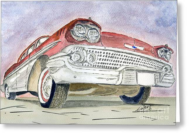 Chevrolet II Greeting Card
