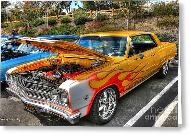 Chevrolet Malibu Ss Greeting Card