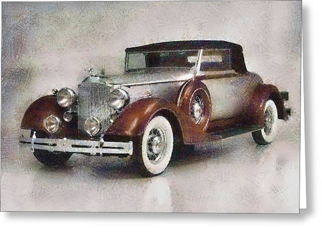 Chevrolet Master Sport Coupe Greeting Card