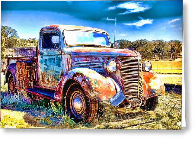 Chevrolet Pickup Truck Greeting Card