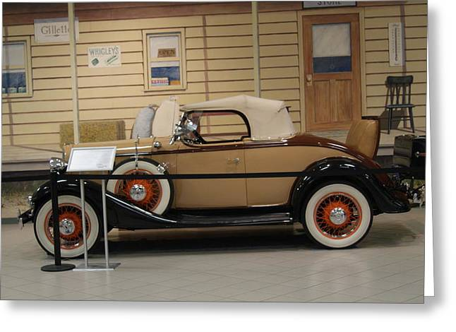 Chevrolet Roadster Greeting Card by Rob Luzier