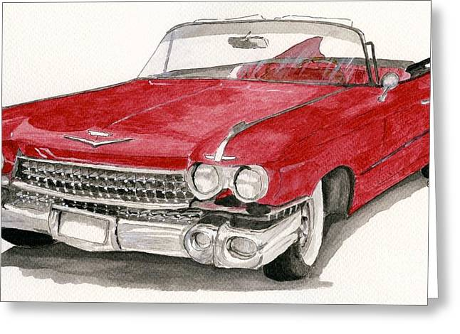 'caddy'-59 Greeting Card
