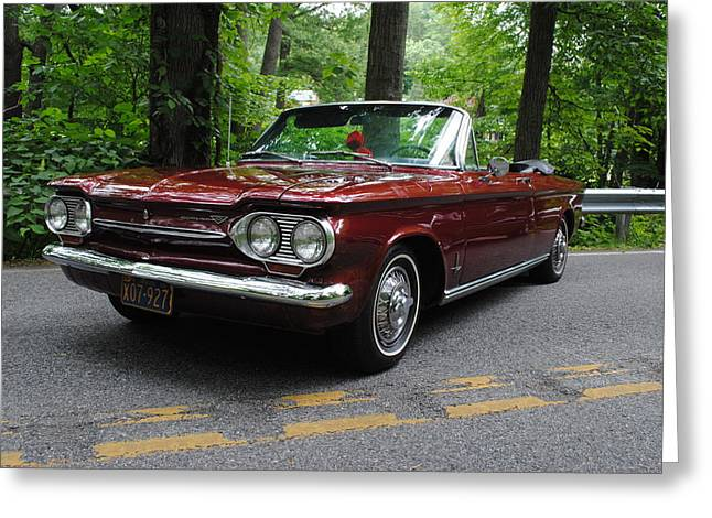 Chevy Corvair Greeting Card