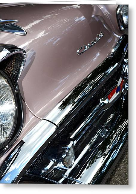 Chevy Greeting Card by Michelle Calkins