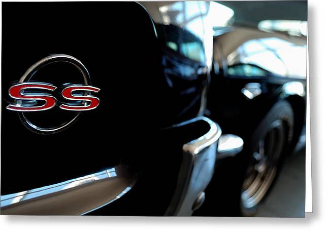 Chevy Ss - Leading The Pack Greeting Card by Steven Milner