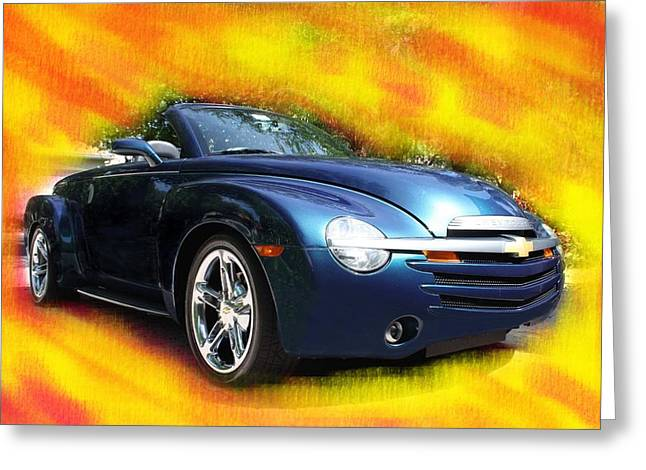 Chevy Ssr Greeting Card by Doug Walker