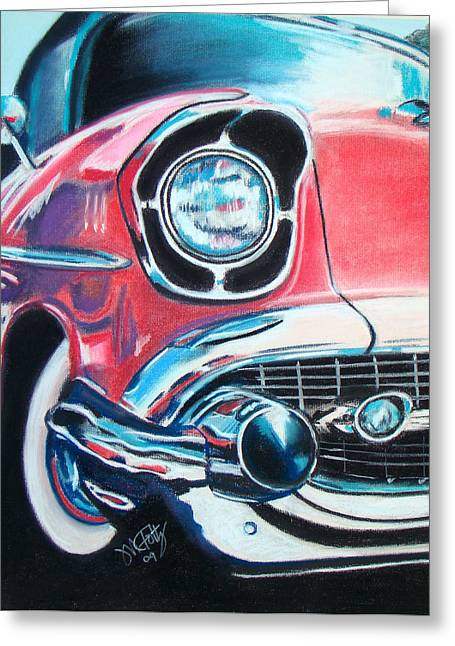 Chevy Style Greeting Card