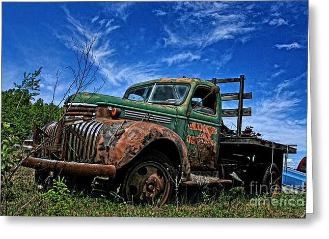 Chevy Truck 4 Greeting Card
