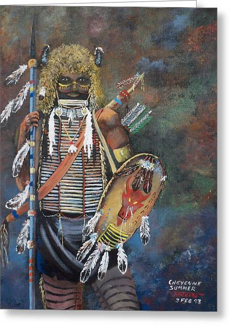 Cheyenne Summer Greeting Card
