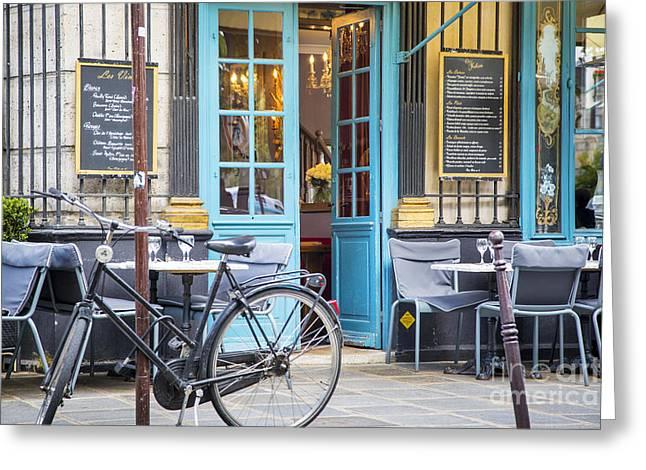 Chez Julien Greeting Card by Brian Jannsen
