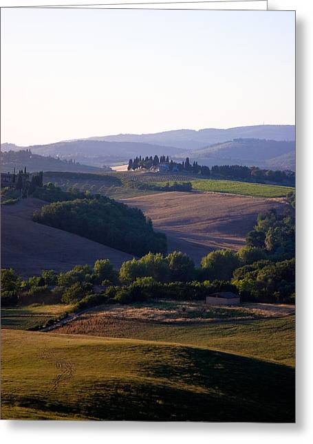 Chianti Hills In Tuscany Greeting Card by Mathew Lodge