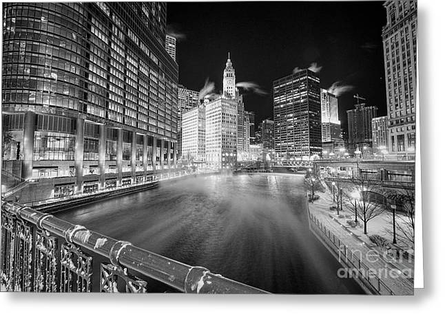 Chiberia Greeting Card by Jeff Lewis
