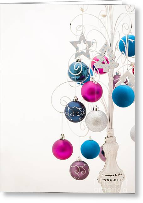Chic Tree Greeting Card by Anne Gilbert