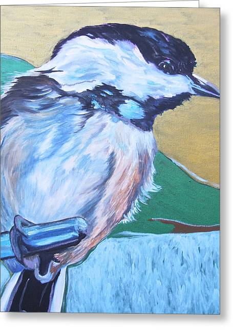 Chicadee Greeting Card