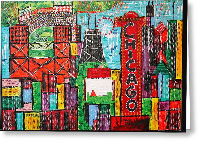 Chicago - City Of Fun - Sold Greeting Card