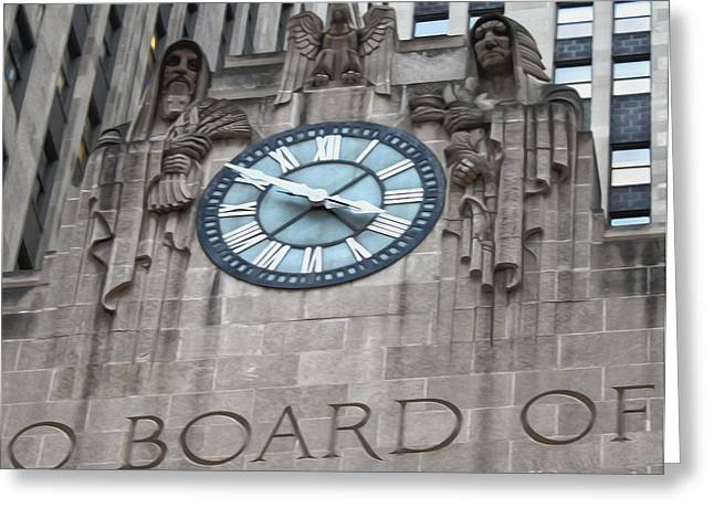 Chicago Board Of Trade Building 05 Greeting Card