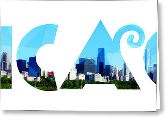 Chicago  Greeting Card by Celestial Images