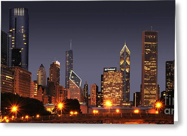 Chicago City Greeting Card