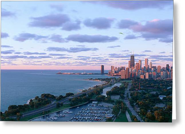 Chicago, Diversey Harbor Lincoln Park Greeting Card