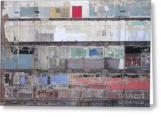 Chicago Loop Construction Greeting Card by James T