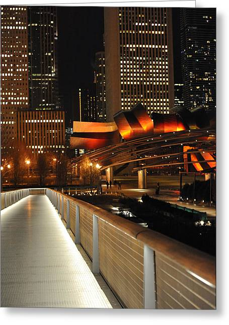 Chicago Millenium Park Greeting Card