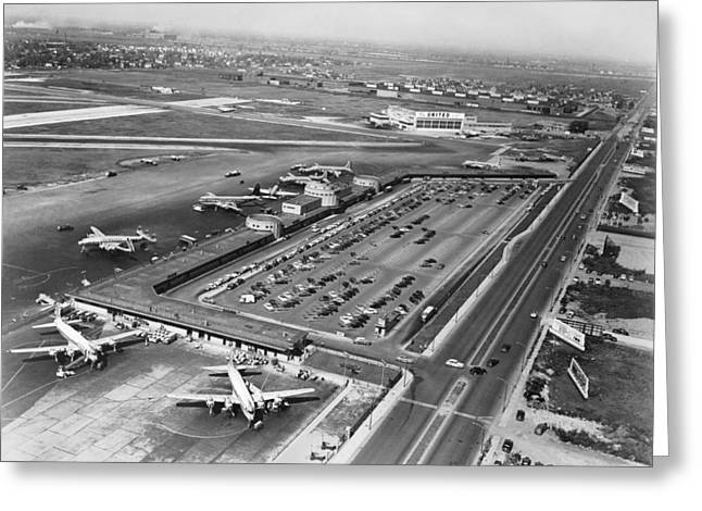 Chicago Municipal Airport Greeting Card
