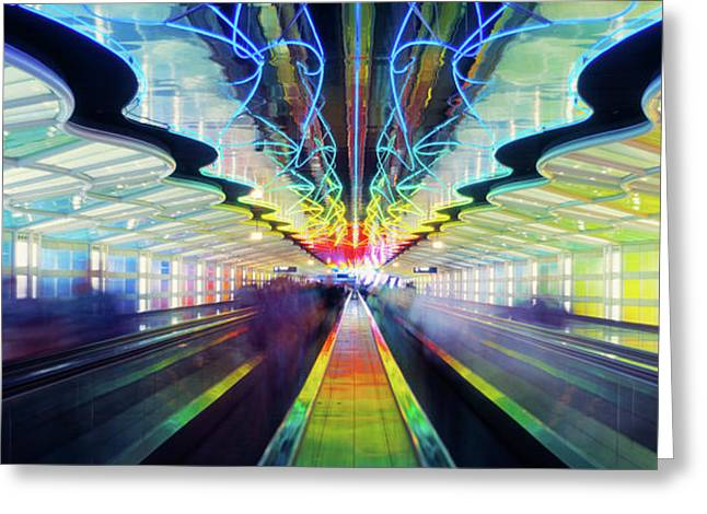 Chicago Ohare International Airport Greeting Card
