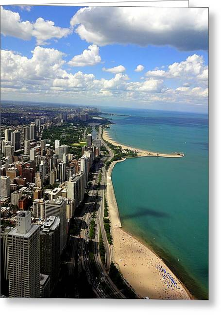 Chicago On The Lake Greeting Card