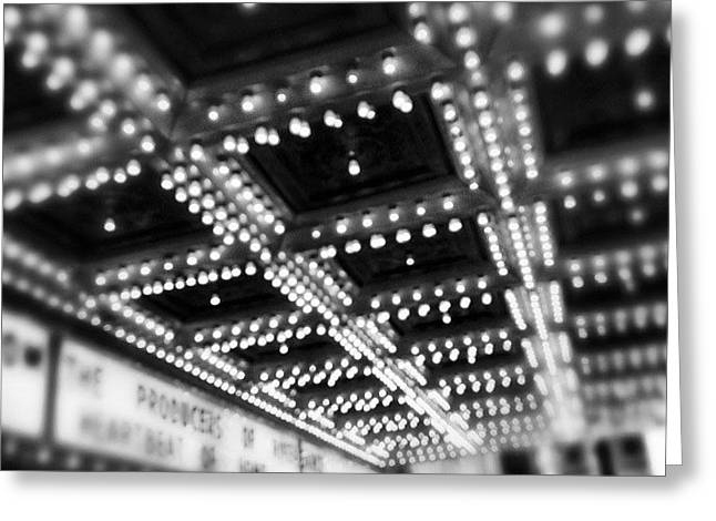 Chicago Oriental Theatre Lights Greeting Card