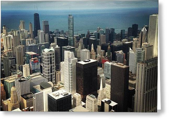 Chicago, Second To None Greeting Card