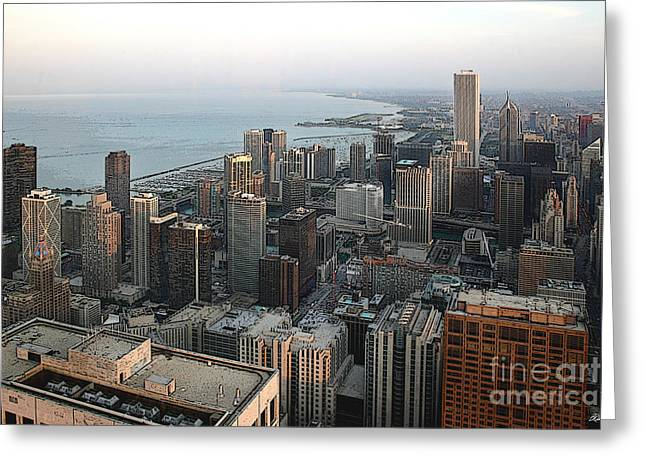 Chicago Shore Greeting Card by Bill Quick