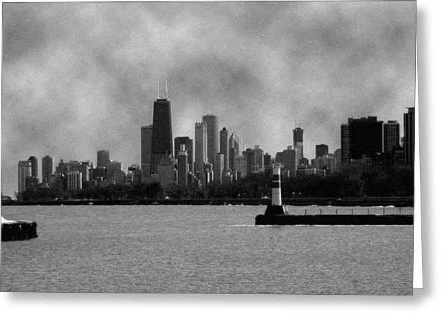 Chicago Skyline Greeting Card