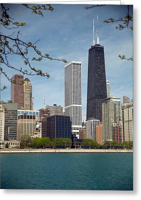 Chicago Spring Greeting Card by Lawrence Boothby