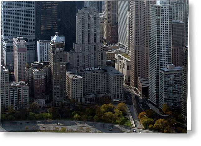 Chicago The Drake Greeting Card