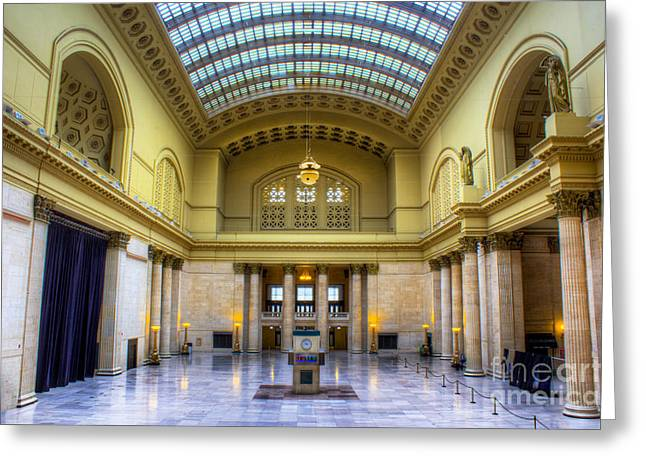 Chicago Union Station Greeting Card