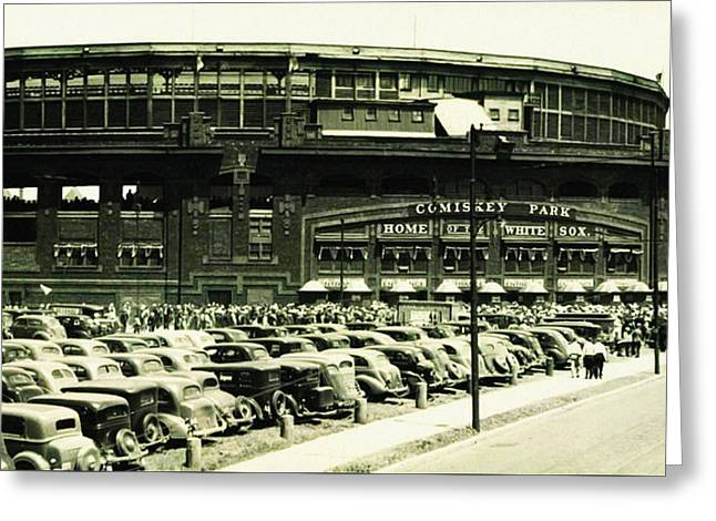 Chicago's Comiskey Park Greeting Card